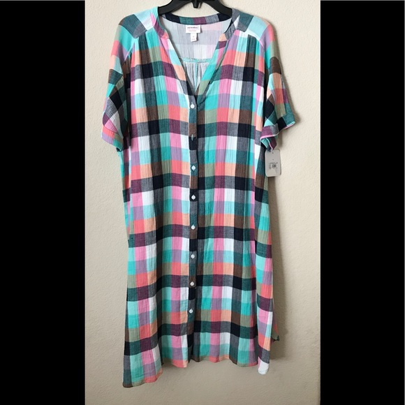 f3ee189f33df9 Ingrid & Isabel Dresses | Isabel Maternity Dolman Shirt Dress Plaid ...
